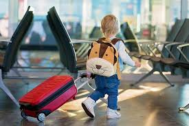 Children's overseas travel during COVID